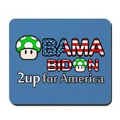 2up for America Mousepad