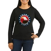 Obama-Biden Eagle Women's Long Sleeve Dark T-Shirt