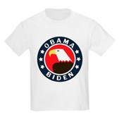 Obama-Biden Eagle Kids Light T-Shirt
