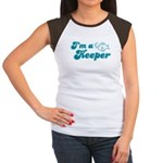 I'm A Keeper Women's Cap Sleeve T-Shirt
