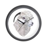 Angora Goat Portrait Wall Clock