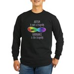 Not a Tragedy Long Sleeve Dark T-Shirt