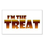 Glowing I'm the Treat Rectangle Sticker 50 pk)