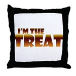 Glowing I'm the Treat Throw Pillow