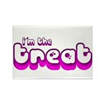 Retro I'm the Treat Rectangle Magnet (100 pack)