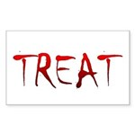 Bloody Treat Rectangle Sticker 10 pk)