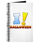 I ! Halloween Journal