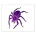 Purple Spider Small Poster