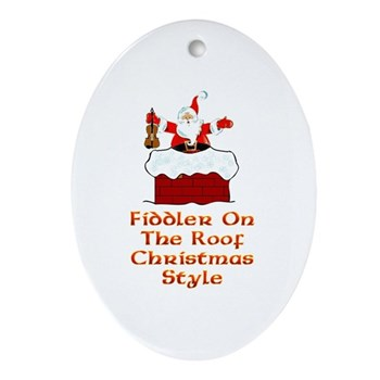 Fiddler on the Roof Ornament