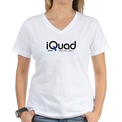 iQuad Team Women's V-Neck T-Shirt