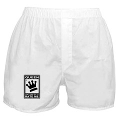 CHESS - RATED QUEEN Boxer Shorts