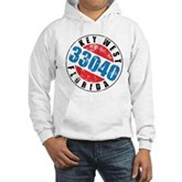 Vintage Key West 33040 Hooded Sweatshirt