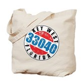 Vintage Key West 33040 Tote Bag