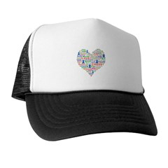 Heart Of Chess Trucker Hat