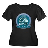 Open Water Diver 2009 Women's Plus Size Scoop Neck