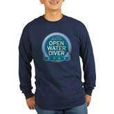 Open Water Diver 2009 Long Sleeve Dark T-Shirt