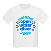 Open Water Diver 2009 Kids Light T-Shirt