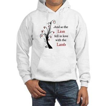 Lion and the Lamb Hooded Sweatshirt