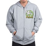 Birdorable Peace Dove Zip Hoodie