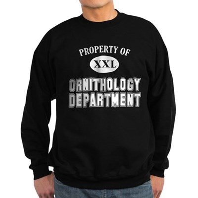 Property of Ornithology Dept sweatshirt