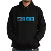 Obama Elements Hoodie (dark)