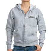 I Believe in Obamagic Women's Zip Hoodie