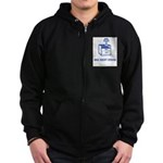 One Night Stand Zip Hoodie (dark)
