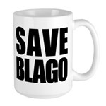 Save Illinois Governor Blagojevich, he's innocent! Large Mug