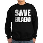 Save Illinois Governor Blagojevich, he's innocent! Sweatshirt (dark)