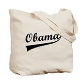 Support our 44th American President, Barack Obama, with this collegiate / sports style design. Obama is spelled out in classic cursive text with a long swish after the final A.