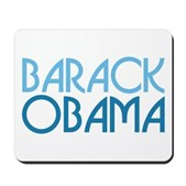 This Art Deco-style text Obama design makes a stylish statement for President Barack Obama supporters. A perfect pro-Obama design for anyone who supports our 44th president. Art Deco Obama in blue.