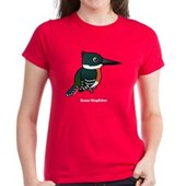 Green Kingfisher Women's Dark T-Shirt