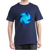 Dolphin Ring Dark T-Shirt