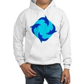 Dolphin Ring Hooded Sweatshirt