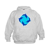 Dolphin Ring Kids Hoodie