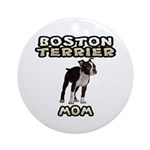 Boston Terrier Ornament for Mom