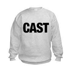 Cast Member T-Shirts Kids Sweatshirt