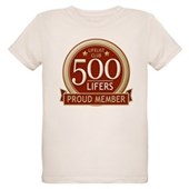Lifelist Club - 500 Organic Kids T-Shirt
