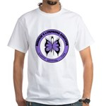 Hodgkin's Disease Survivor White T-Shirt