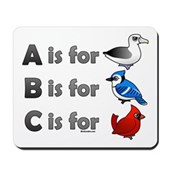 B is for Birdorable Mousepad