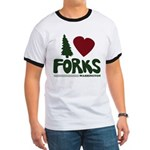 I Heart Forks, WA - Twilight Ringer T