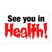 See You In Health! Postcards (Package of 8)