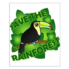 Save the Rainforest Small Poster