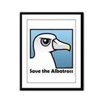 Save the Albatross (close-up) Framed Panel Print