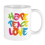 Hope Peace Love Mug