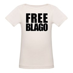 Free Illinois Governor Blagojevich, he's innocent! Organic Baby T-Shirt