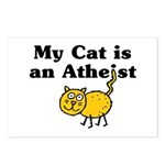 My Cat Is An Atheist Postcards (Package of 8)