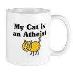 My Cat Is An Atheist Mug