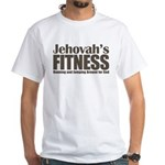 Jehovah's Fitness White T-Shirt