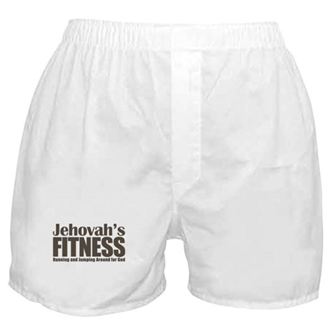 Jehovah's Fitness Boxer Shorts